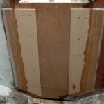 Aft bulkhead, center section