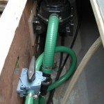 New bilge pump close up