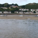 Conwy River sandbank very close